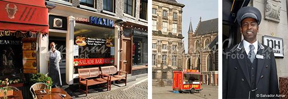 Escenas y gentes de Amsterdam