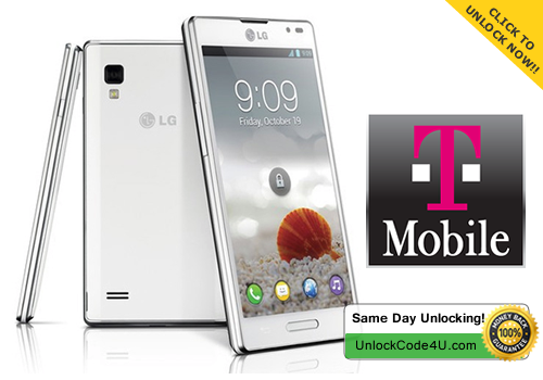 Factory Unlock Code for LG Optimus L9 P769 from T-Mobile