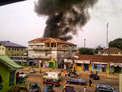 Fresh Photos from The bomb Blasts in Jos .