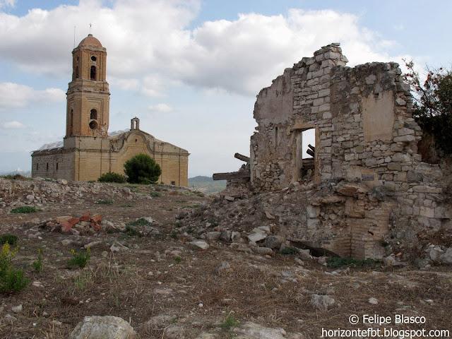 Pueblo viejo de Corbera de Ebro