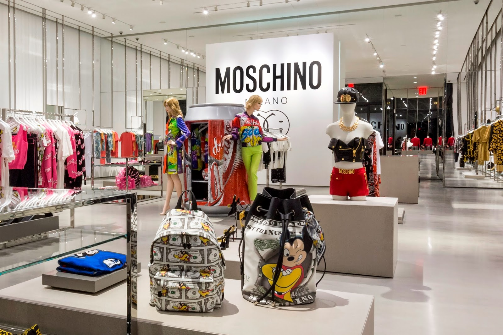 Moschino West Hollywood Bags and Clothing