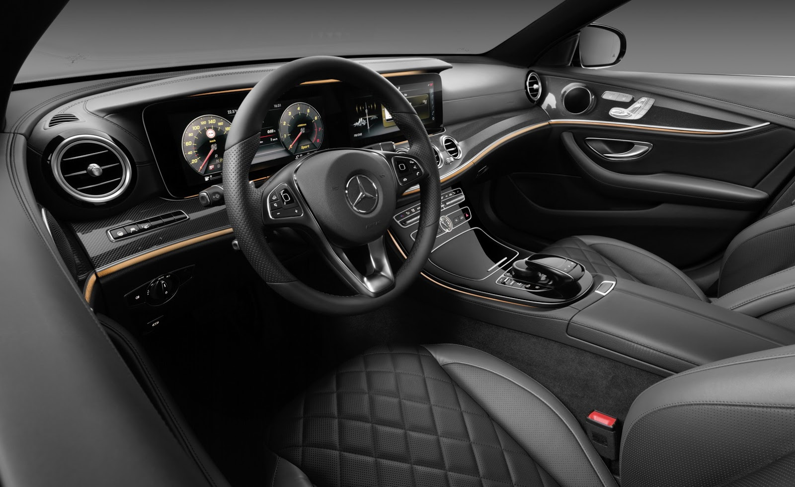2017 mercedes benz e class first official look at Interieur mercedes