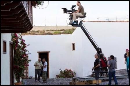 Rodaje de Felices 140 (Gracia Querejeta, 2015)