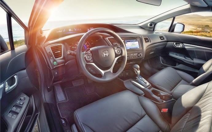 interior mobil sedan honda civic