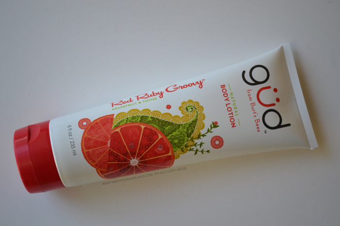 Gud Red Ruby Groovy Natural Body Lotion - Review