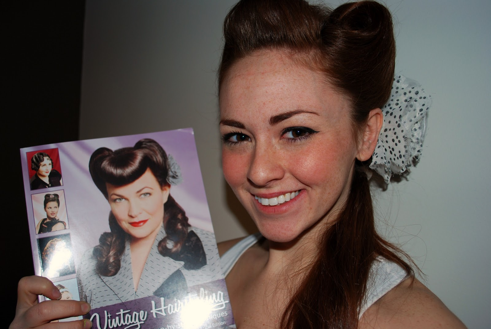 Ashley Dee Vintage Hairstyling Book Pug