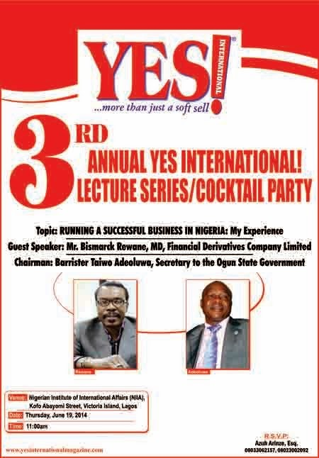 3rd Annual YES Int Magazine