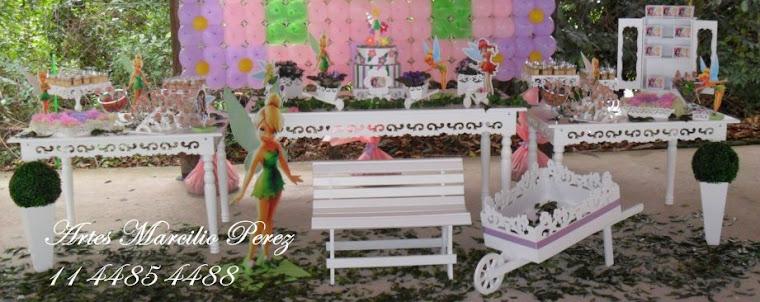 Trio de mesas Sininho provençais R$ 860,,00 mesa grande 1,60x80x80, mesas menores 1,16x45x70A