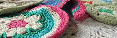 crochet, ByHaafner, doily, potholder, pastel,