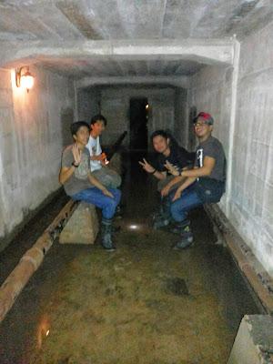 Gambar. ruangan bawah tanah gedung b lawang sewu