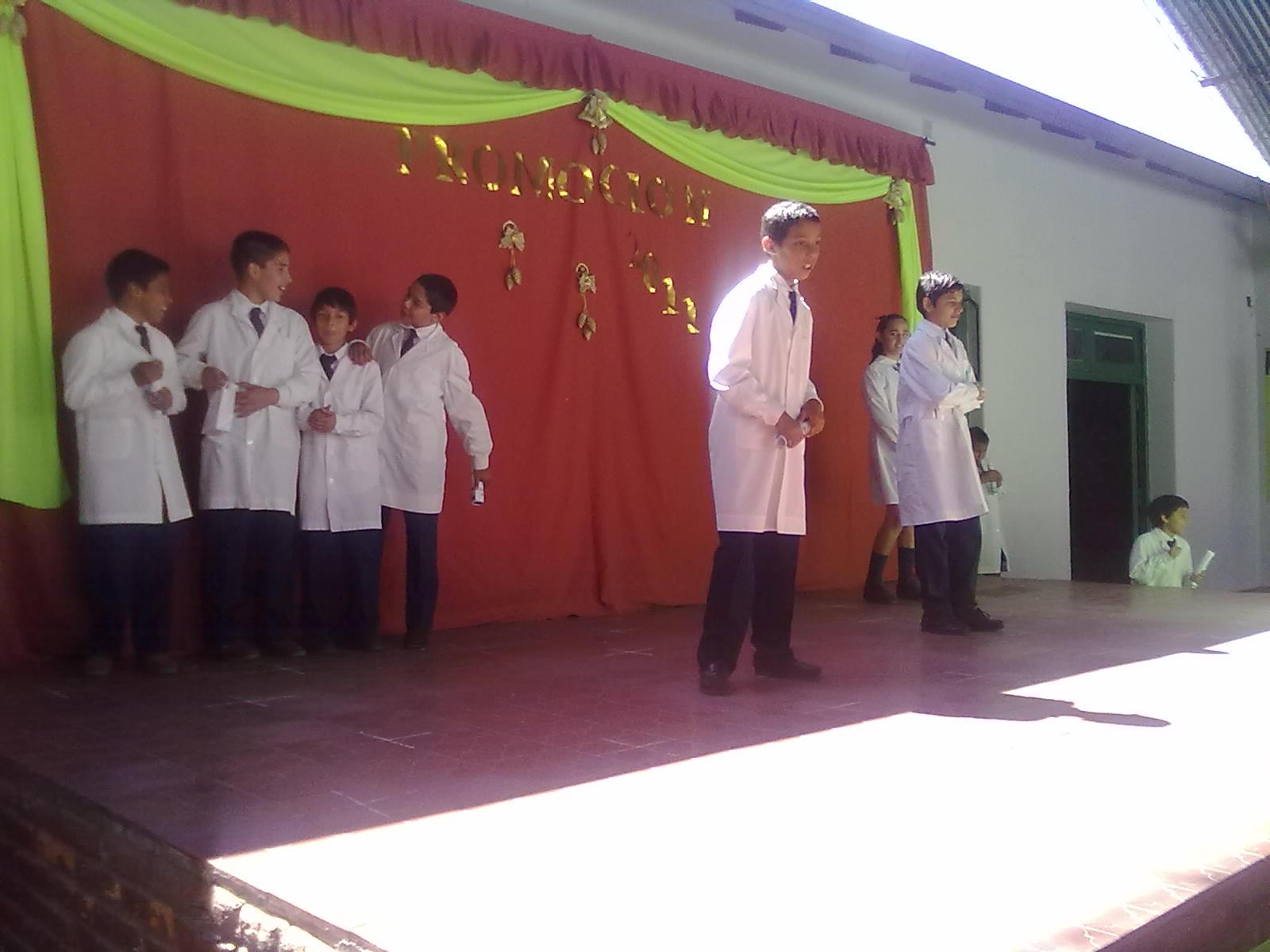 6º Grado Acto De Fin De Curso Escuela Nº 443 Gral Joaquín De