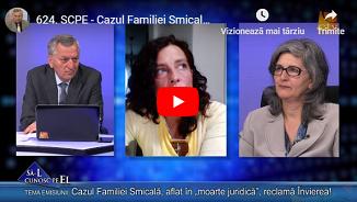"""Credo TV: Cazul Familiei Smicală, aflat în """"moarte juridică"""", reclamă Învierea!"""
