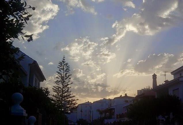 Amanece Julio desde Fuengirola
