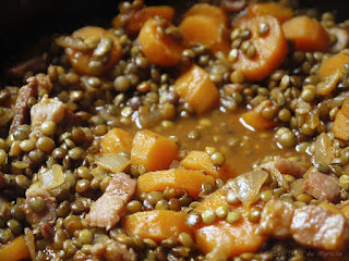 Ragout de lentilles vertes du Puy (voir la recette)