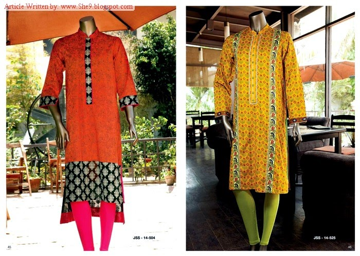 Junaid Jamshed Midsummer Dress Collection 2014