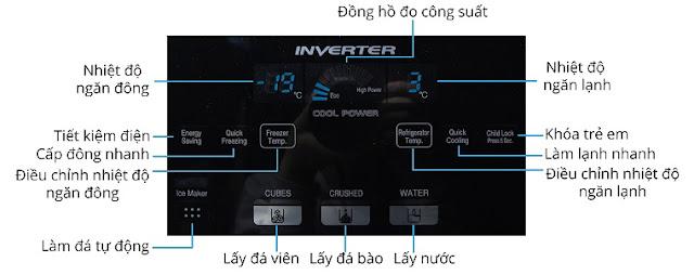 Hướng dẫn sử dụng tủ lạnh HITACHI R-M700GPGV2X 584 lít