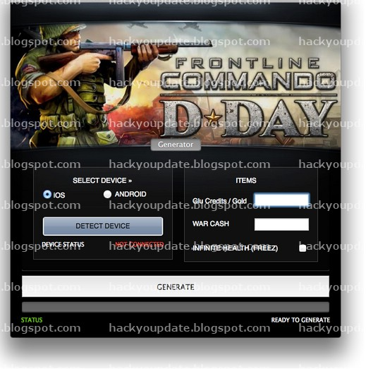 About Frontline Commando D-Day Hack: