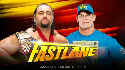 WWE Fast Lane 2015 Rusev vs John Cena results