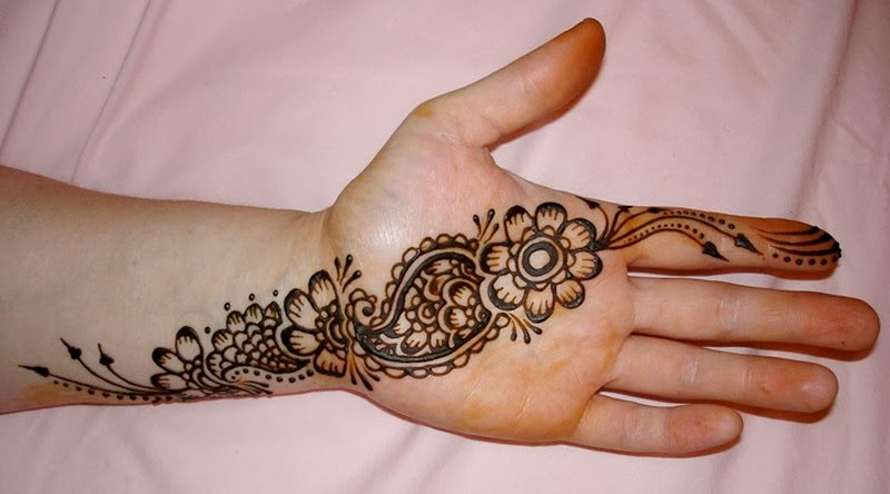 Simple Mehndi Patterns Wallpapers : New download easy and simple mehndi design domseksa