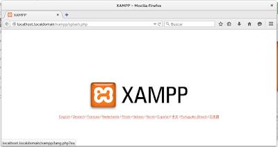 Errores comunes de Xampp en Fedora