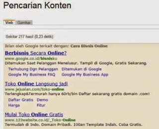 Gambar Cara Mencari Informasi Di Situs Saya