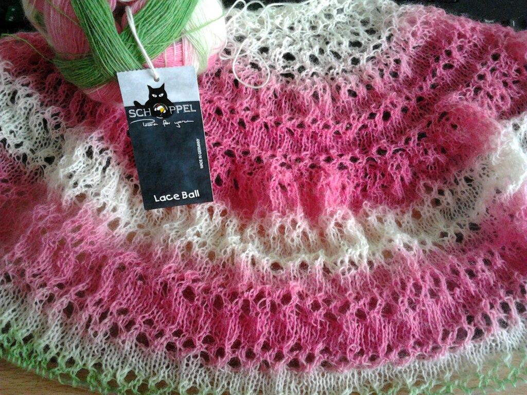 Lace Shawl Pattern | Crazy Knitter