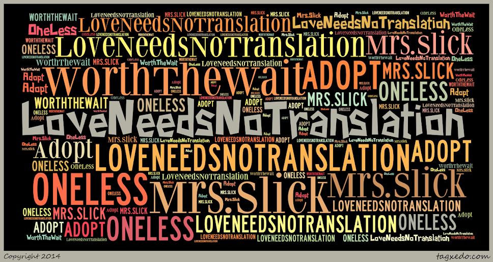 Love Needs No Translation - Mrs.Slick