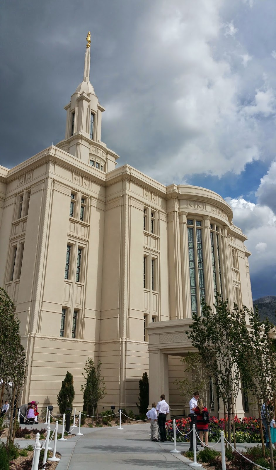 A Few Years Ago I Did A Blog Post About My Siblings And I Visiting The  Brigham City Temple Open House. An Open House Is When The Public Can Come  See An ...