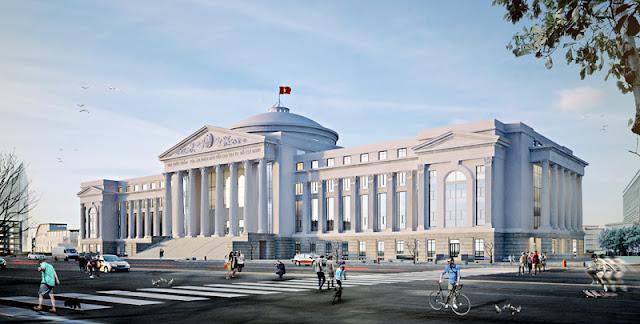 Cuộc thi phương án thiết kế kiến trúc công trình nhà làm việc các cơ quan chuyên môn thuộc UBND tỉnh Bình Định