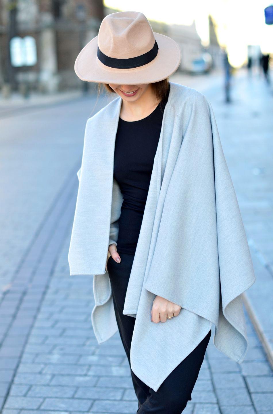 ponczo na jesien | blogi modowe | o urodzie | lifestylowe | blogerka z krakowa