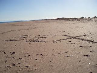 Ζωγραφιές στην άμμο