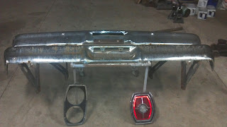 1965 Ford Galaxie Bumper chromed