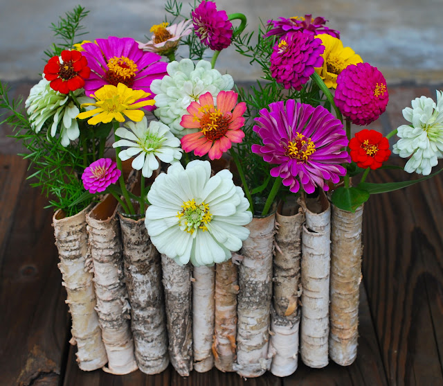 Folded Birch Planter The Everyday Gardener Amanda Jane Brown