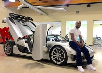 Mayweather Flaunts £3m Trevita Sports Car Built Only 2 in the World