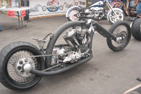 Modifikasi Motor Konsep Monster