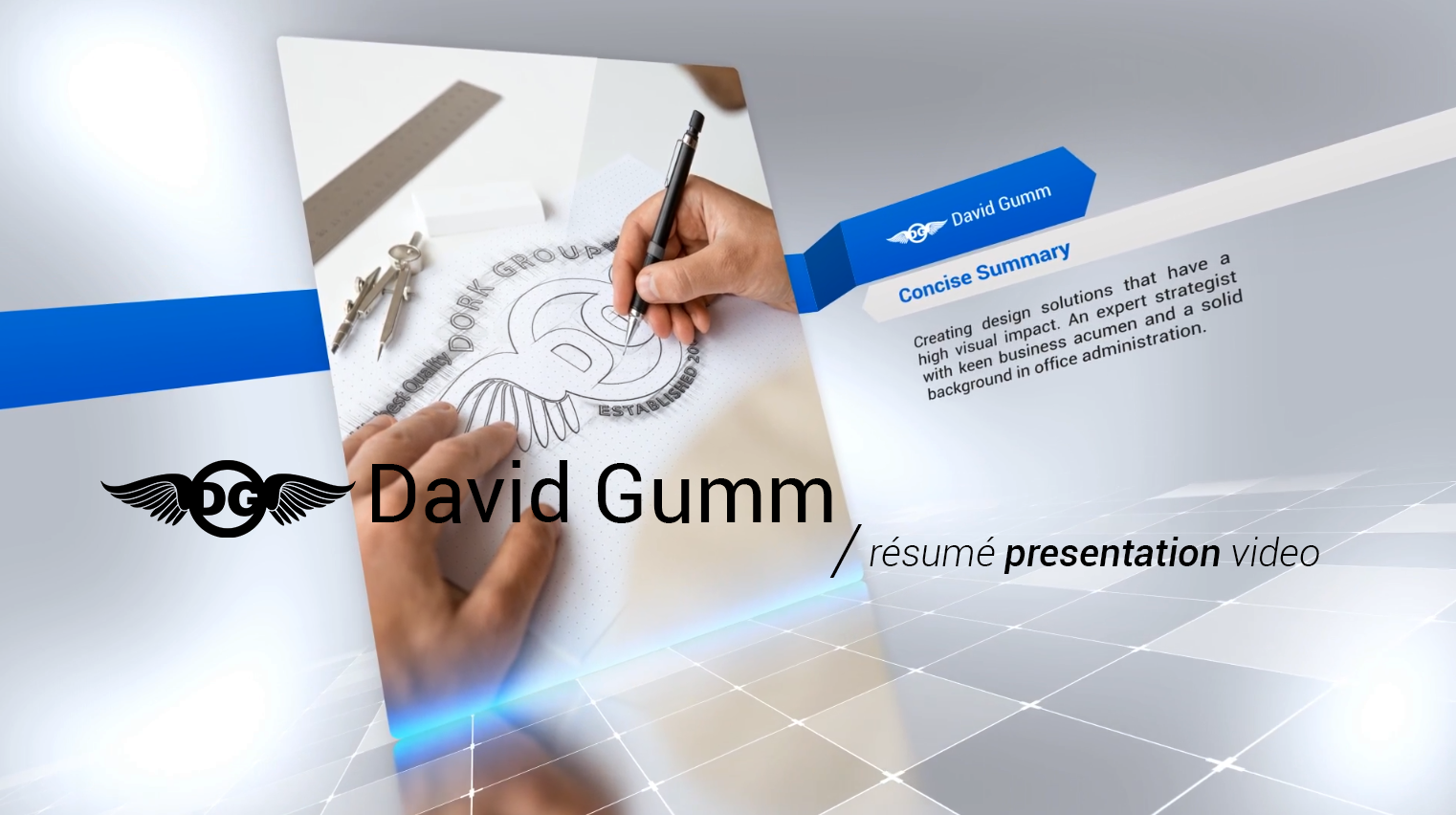 The Dork Group: David Gumm\'s Résumé Presentation Video
