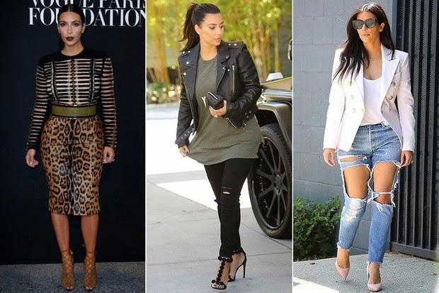 Looks de Kim Kardashian