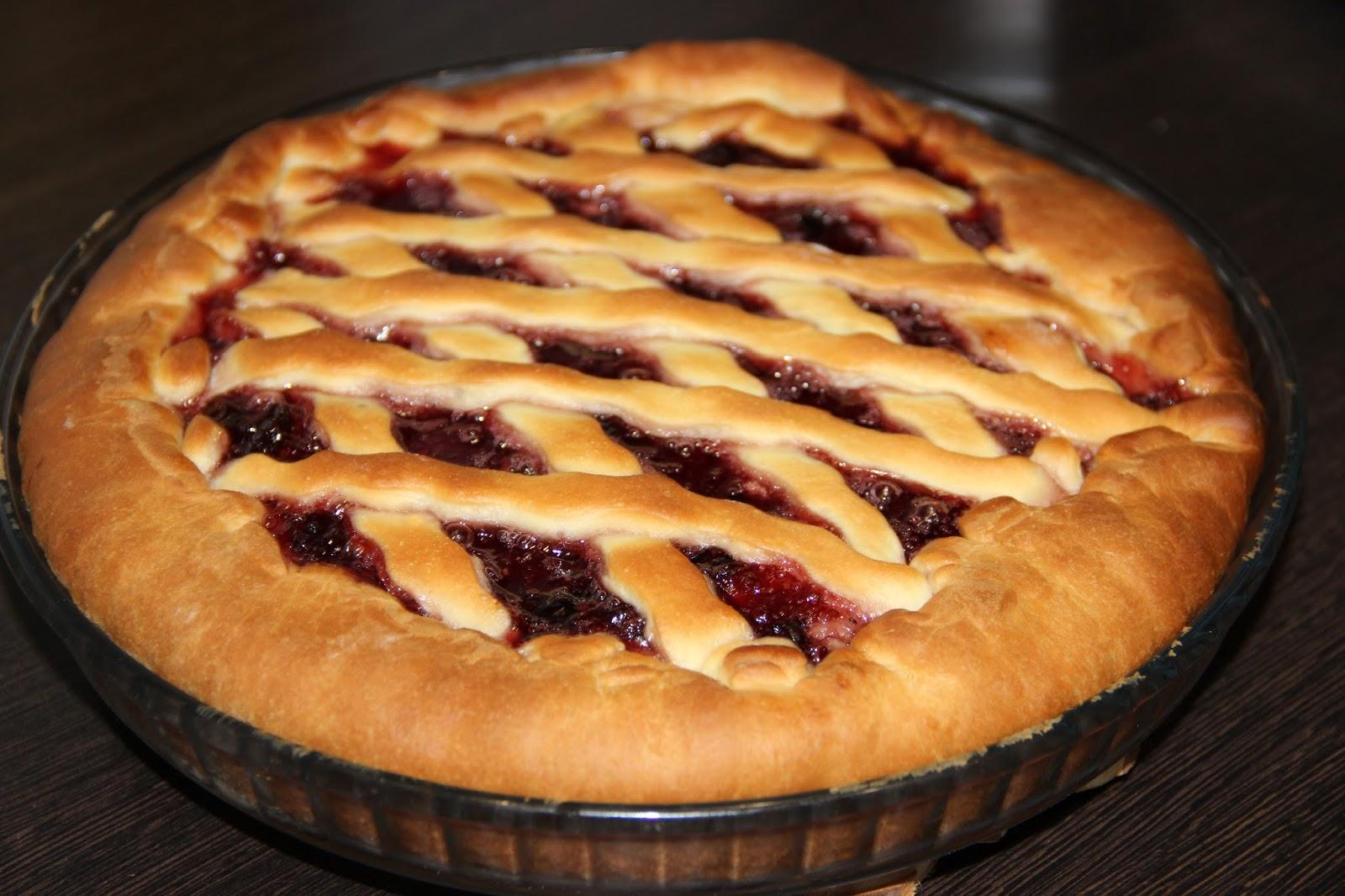 Рецепт теста для пирога с вареньем