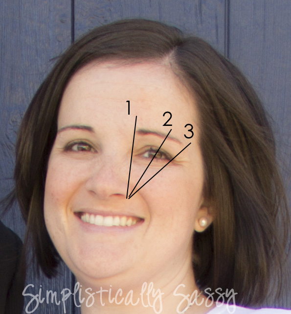How To Tweeze Your Eyebrows By Simplistically Sassy