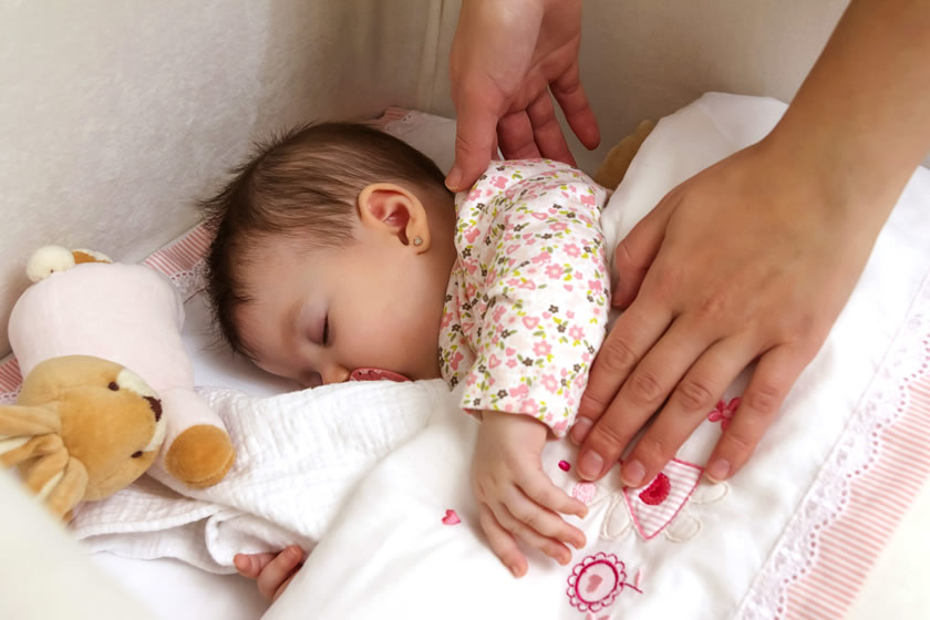 55% of babies sleep with risky bedding products