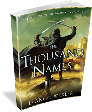 Book Cover: The Thousand Names by Django Wexler