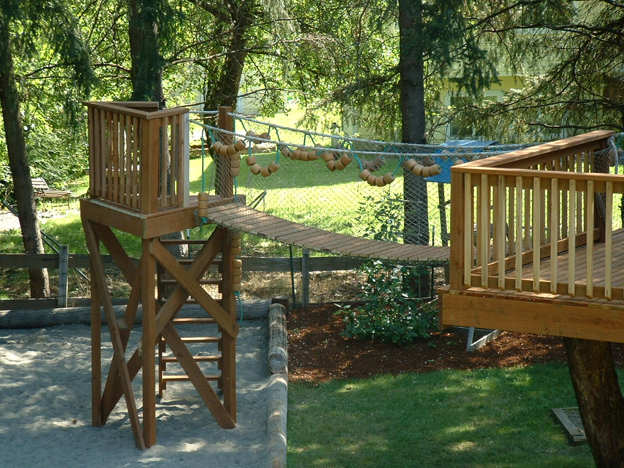 Backyard Treehouse Ideas : Backyard Tree House Plans