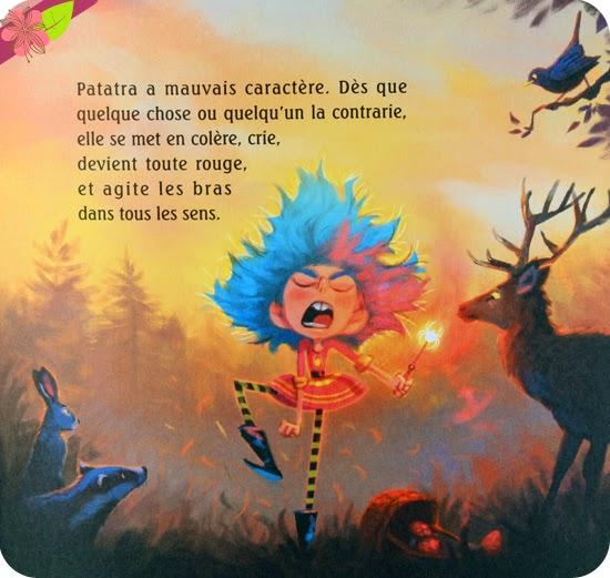 """""""Patatra la p'tite sorcière et les crapauds"""" de Monique Aloujes et Florian Le Priol"""