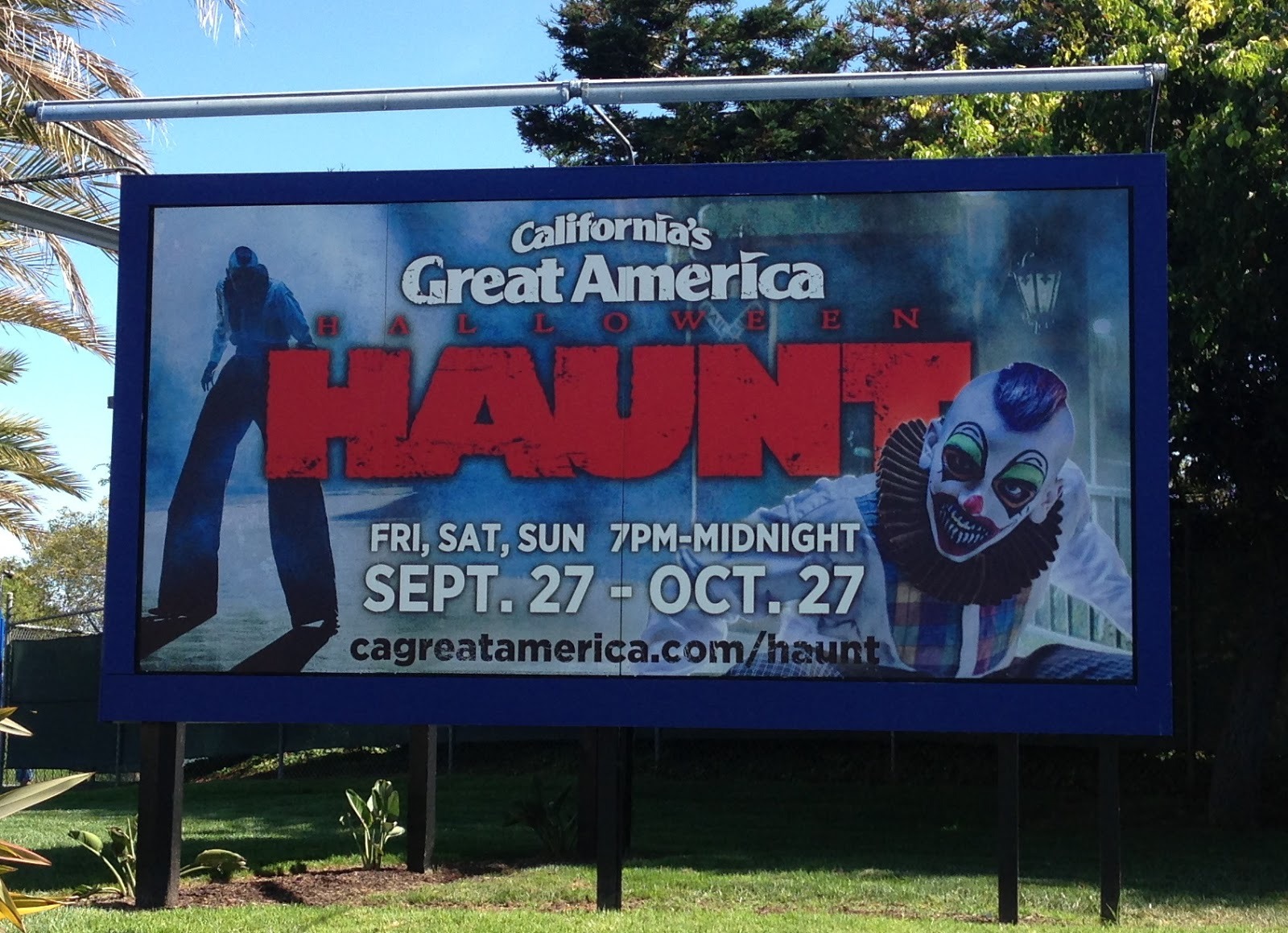 fright bites: california's great america halloween haunt 2013