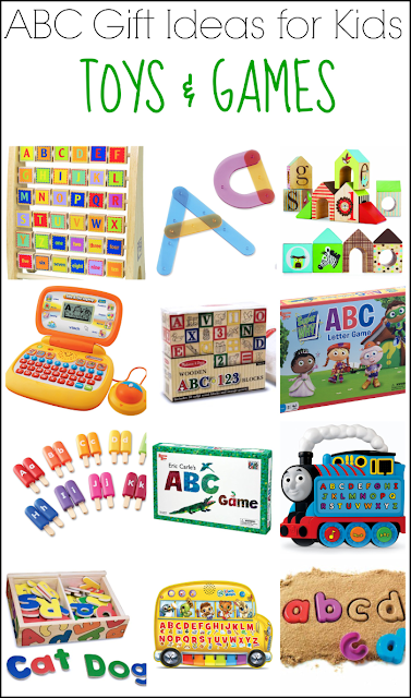 ABC Gift Ideas for Kids: Alphabet Toys & Games from And Next Comes L