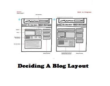 Deciding A Blog Layout - http://pretoproblogger.blogspot.com
