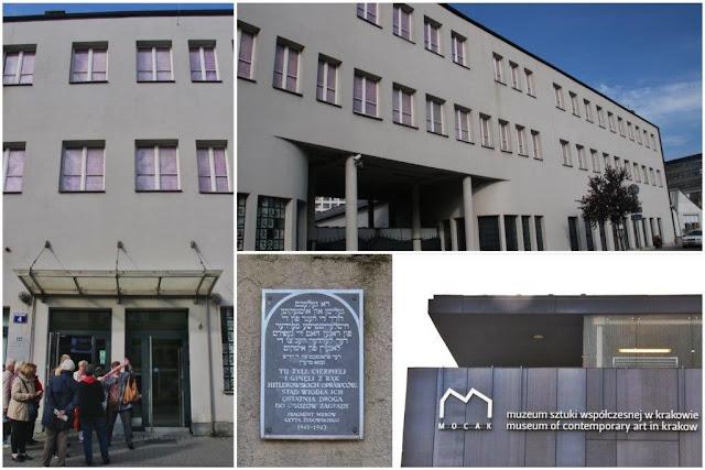 Fabrica Oskar Schindler en Cracovia – Restos del muro del gueto judío de Podgorze – Museo de Arte Contemporaneo de Cracovia
