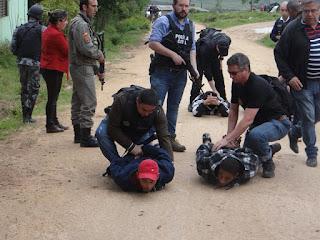 Confira a imagem dos bandidos que assassinaram o proprietário de Restaurante em Piratini e manteram uma família refém em Morro Redondo