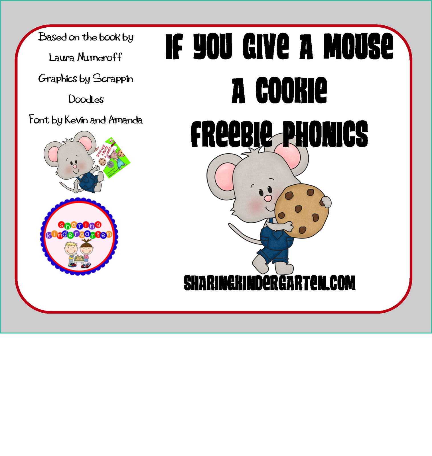 if you give a mouse a cookie unit and two freebies