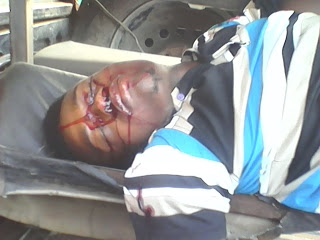 Students desert Imsu hostels as 400 level student is gunned down in cold blood  today (warning Graphic photo)